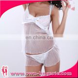 Fashion Mini Nightwear Lace Sexy Babydoll for Japanese Girl Picture Transparent Dress Lingerie Sex