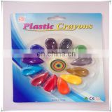 colorful plastic crayons for children