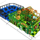 HLB-I17024 Children Amusement Park Items Kids Indoor Soft Play Equipment