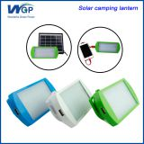 WGP rechargeable led solar emergency light with mobile phone charger
