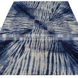 Indian Shibori Natural Dyed Cotton Quilt Handmade Throw Indigo Blue Blanket Wholesale