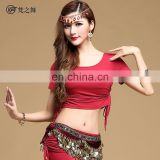 S-3092 Modal professional women belly dance top wear