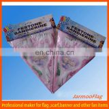 advertising decorative cotton pennants