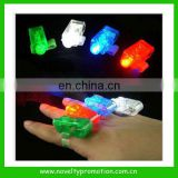 Plastic flashing LED ring