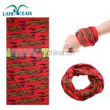 Multi use sublimation microfiber custom magic tube scarf