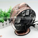Best Gift New Design Mini electric Strong Wind metal table fan with usb