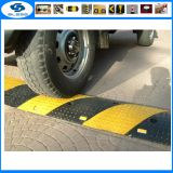 Heavy load capacity 500*400*50mm rubber speed bump road safety products 500*600*50mm rubber speed hump
