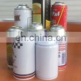 Empty aerosol can made by Soudronic Can Making Machine MOQ10000pcs