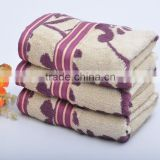 Factory Price fancy 100% bamboo fiber fabric high quality thicken fancy bath towels