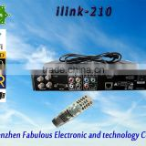 ilink 210 LED display hot satellite channel hd digital satellite tv receiver product 2016 free iptv iks channel best tv box