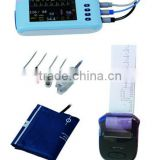 Mini 5 inch Touch Screen Multi-parameter Patient Monitor Medical Electronic Apparatus AJ-3000Palm