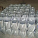 API Casing &Tubing guide/ centralizer,spiral rigid Centralizer for oil well downhole pipe