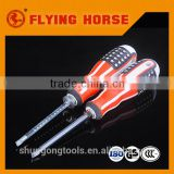Double color stripe magnetic screwdriver (Chrome vanadium steel)