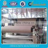 Gum Wood pulp making line and lignin collect making line, 70 T/D, 3200mm, fluting paper, kraft paper, carton paper make line