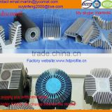 6063 T5 anodizing aluminium extrusion heat sink profile/radiator/aluminium radiator/aluminium extursion