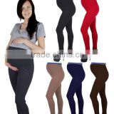 Comfortable and Elegant Maternity Pregnancy Long Full Length Leggings Belly Band