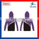 2014 Wholesale plain black hoodie