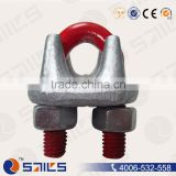 China factory drop forged wire rope clamps