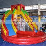 Commercial cheap inflatble water slide for kids