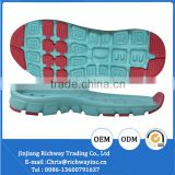 2016 child soles eva and rubber material for shoes making