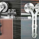 Factory Price Interior stainless steel high quality hanging pulley system for sliding door