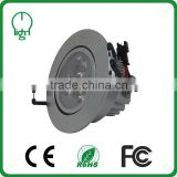 Hot Selling CE ROHS FCC Energy Saving Long Life Super Bright surface mount round led ceiling light fixture