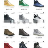 High top genuine leather men sneakers fashion high quality sneaker for man shoe