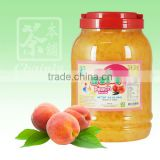 Peach Flavor Coconut Jelly