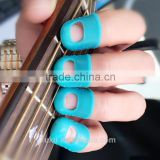 cheap musical accessories colorful rubber finger stall finger cot finger guard thimber for playing guitar