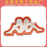 Factory Hot sale Cheap Custom PVC Soft Rubber Patch Logo