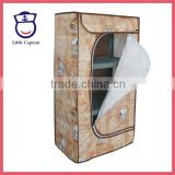 Folding Fabric Plastic Kids Wardrobe