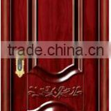 Rose wood color steel wooden interior cheap doors                                                                         Quality Choice