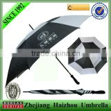 30'' double layer promotional golf umbrella wholesale