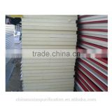 High quality purification polyurethane rigid insulation choi plate for prefabricated house