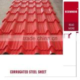 Wall Decoration Use Zinc Aluminized and Iron Corrugated Roofing Steel Sheet Supplier in Tianjin