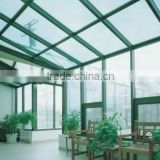 Skylight glass sun room