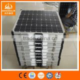 China manufacturer folding solar panel home kit off grid power system 100W 120W Mono crystalline portable kits