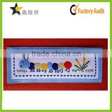 2015 Alibaba website high quality factory directly custom unique embroidery design woven scarf labels