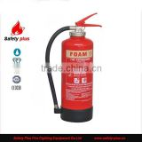 CE/EN3 Approved interal cartridge 6L AFFF 3% foam fire extinguisher                                                                         Quality Choice