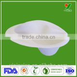 Biodegradable recyclable harmless waterproof bedpan liner