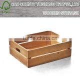 Solid wood without cover restoring ancient ways storage a case square log home desktop storage box box
