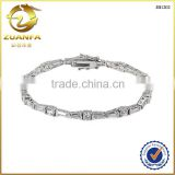 factory direct sell pure 925 sterling silver cubic zirconia jewelry bracelets and bangles