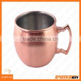 360ml stainless steel moscow mule copper mugs for beer mug