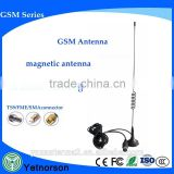 GSM/3G 900MHz 1800MHz 3dBi Outdoor Magnet Antenna SMA Male with 3M Black RG174 Cable for Car