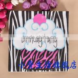 New Design Birthday Party Decoration Design 100% Virgin Wood Pulp Printed Tissue Paper Napkin