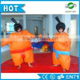HI CE -Certificate 0.45mm pvc tarpaulin sumo wrestling costume,inflatable fighting sumo,sumo suits for kids
