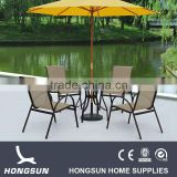 Hongsun relax outdoor lounge chair with canopy