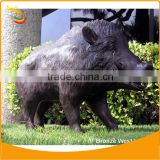Bronze Boar Sculpture Home Decoration Wild Boar Sculpture Wild Animal Sculpture Bronze Animal Sculptures