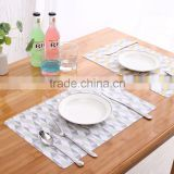 disposable placemats baby pp material different pattern table mats for family
