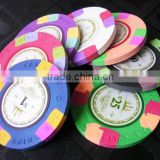 9g Clay Ceramic Professional OEM Supply Custom Metal Poker Chips                                                                         Quality Choice